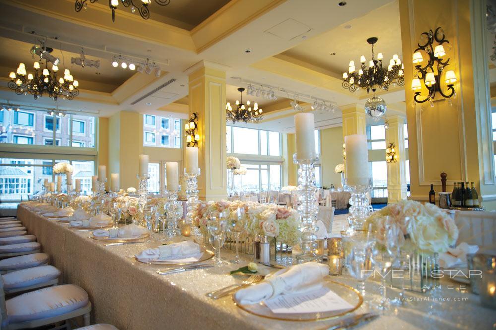 Weddings at Boston Harbor Hotel, Boston, MA