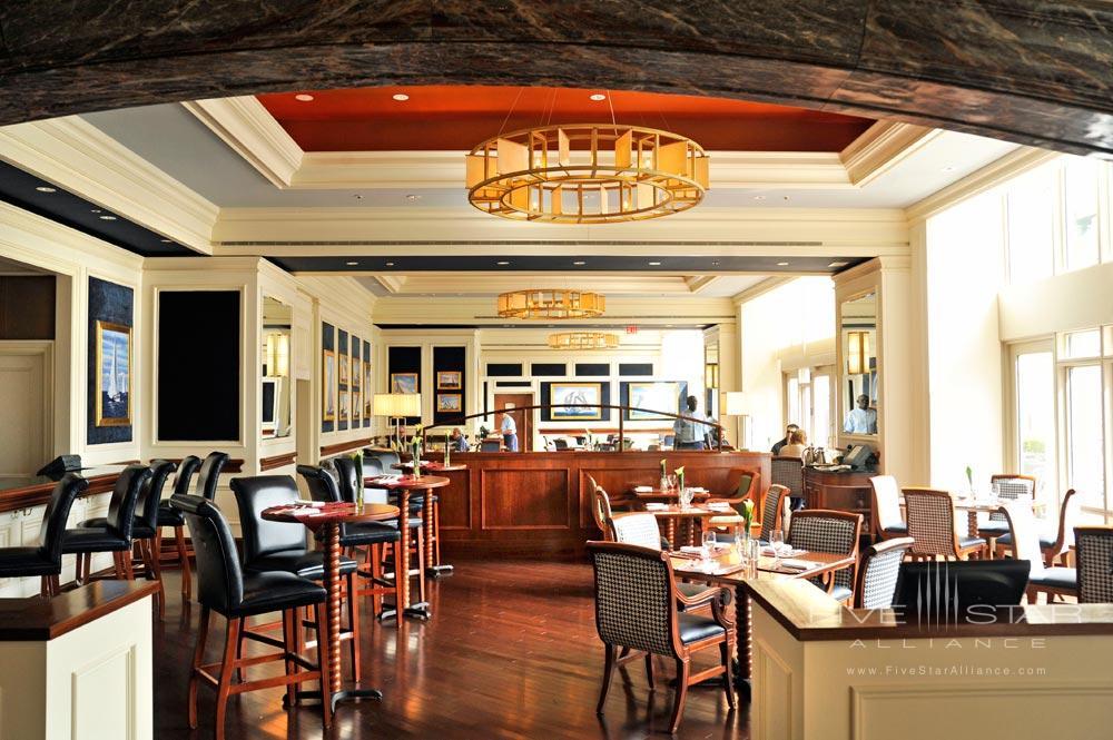 Dining Room at Boston Harbor Hotel, Boston, MA