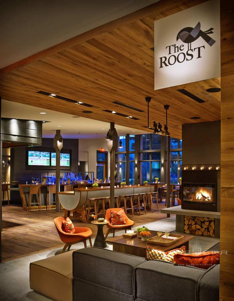 The Roost Entrance