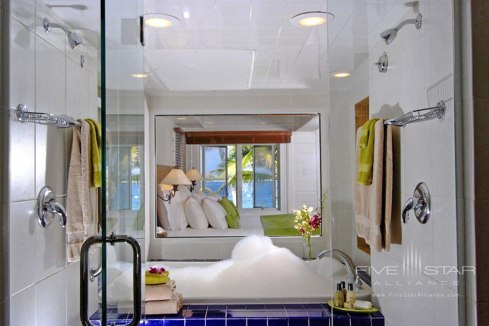 Beachfront Junior Suite Bathroom at Peter Island Resort & Spa