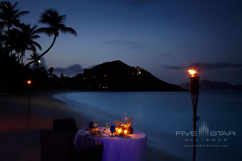 Private Beach Dinner at Peter Island Resort & SpaPeter IslandBritish Virgin Islands