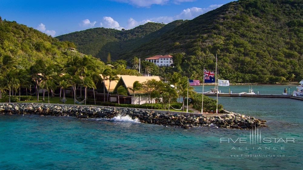 View upon arrival at Peter Island Resort & SpaPeter IslandBritish Virgin Islands