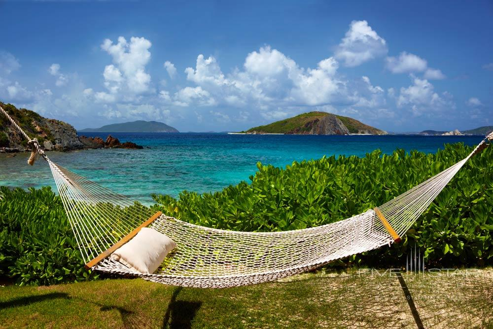 Hammock Lounge on Deadmans Beach at Peter Island Resort & SpaPeter IslandBritish Virgin Islands