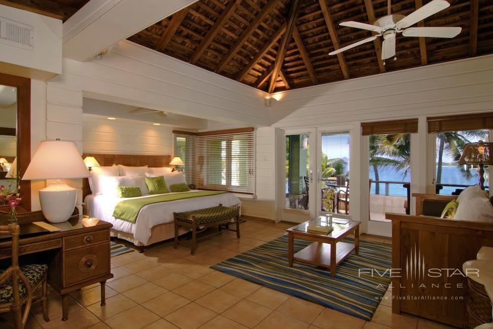 Beachfront Junior Suite at the Peter Island Resort & Spa