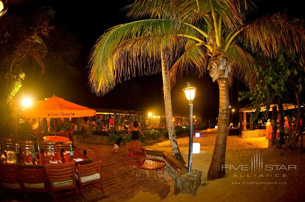 Event Setup at Deadmans Bar and Grill at Peter Island Resort & SpaPeter IslandBritish Virgin Islands