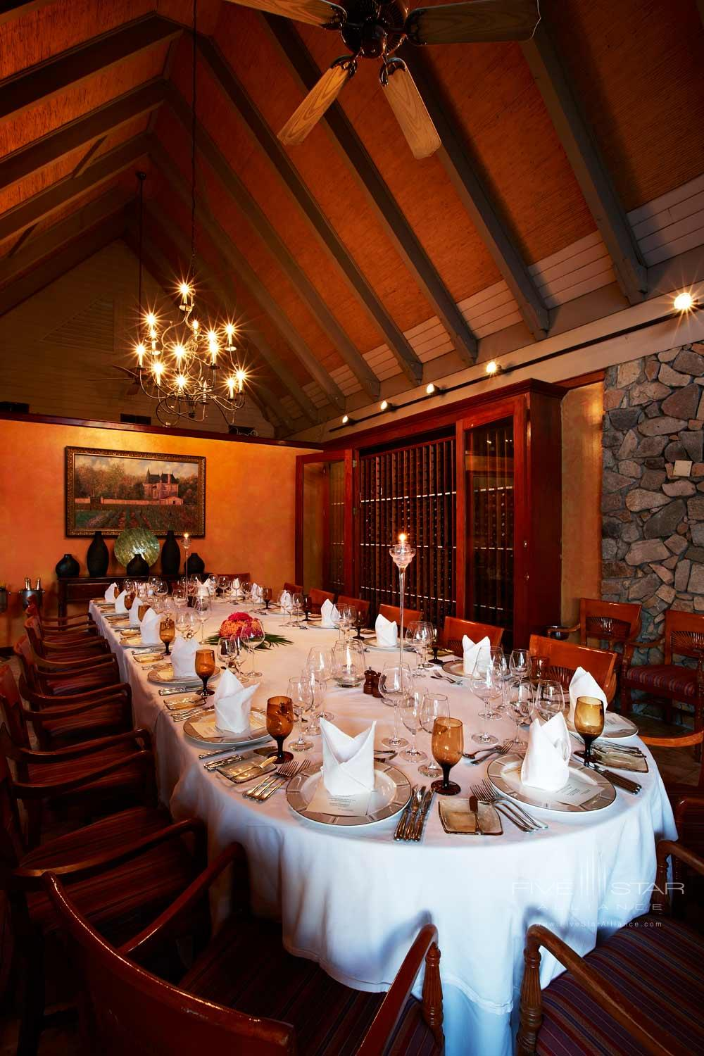 Tradewinds Wine Room at Peter Island Resort & SpaPeter IslandBritish Virgin Islands