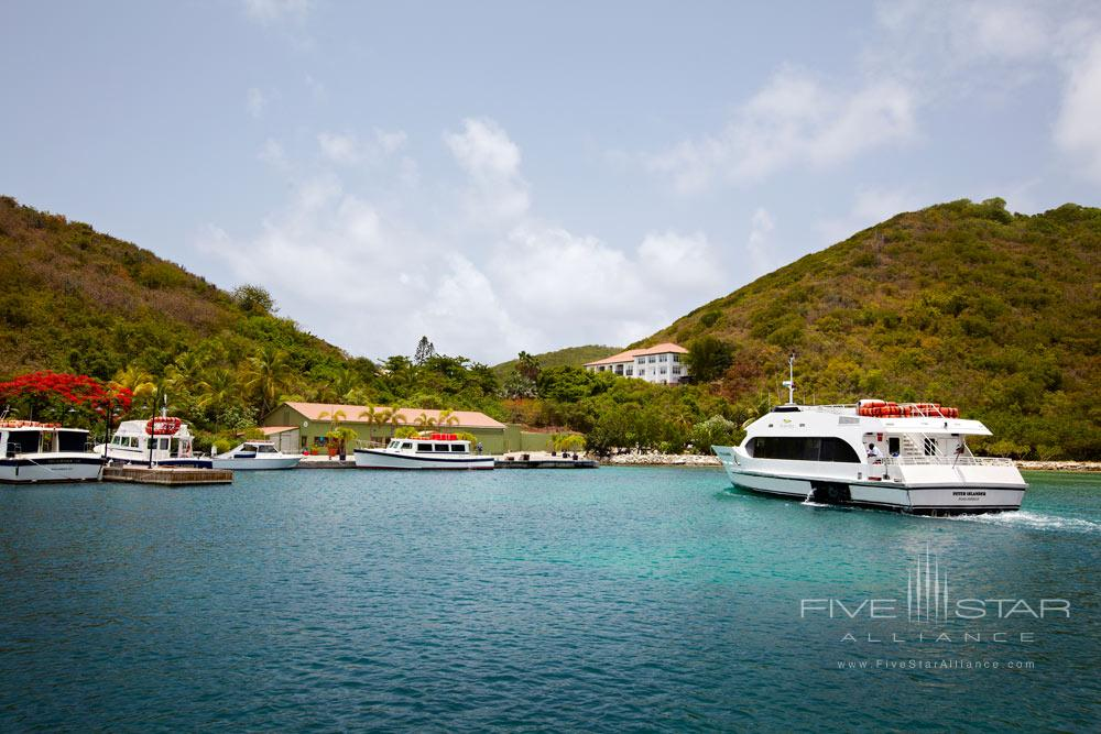 Marina Arrival at Peter Island Resort & SpaPeter IslandBritish Virgin Islands