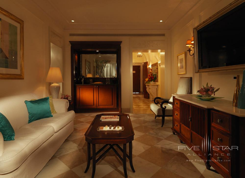 Orchid Suite Lounge at Sandy Lane HotelBarbados