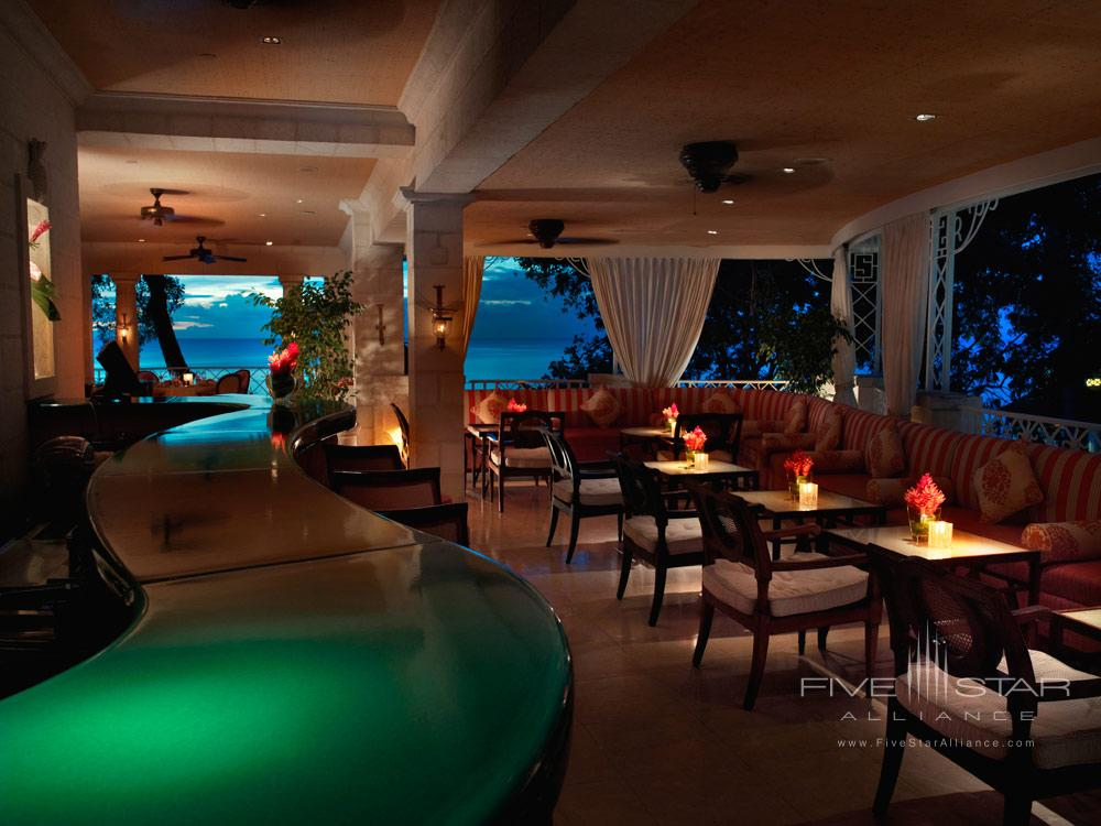 LAcajou Lounge at Sandy Lane Hotel, Barbados