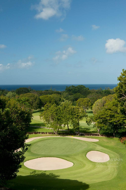 Golf Course at Sandy Lane Hotel, Barbados