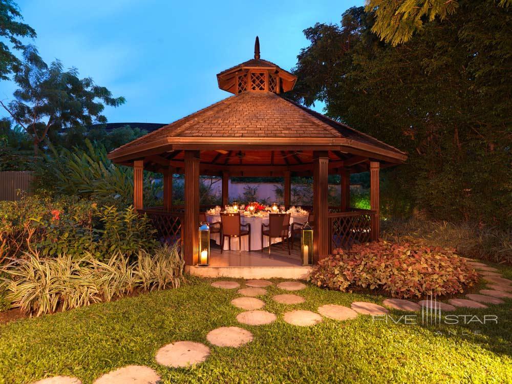 Villa Gazebo Private Dining Room at Sandy Lane Hotel, Barbados