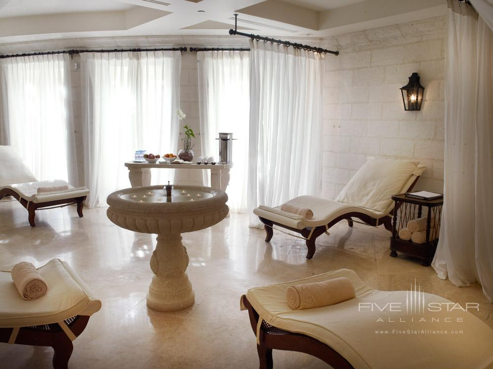 Relaxation Spa Room at Sandy Lane Hotel, Barbados