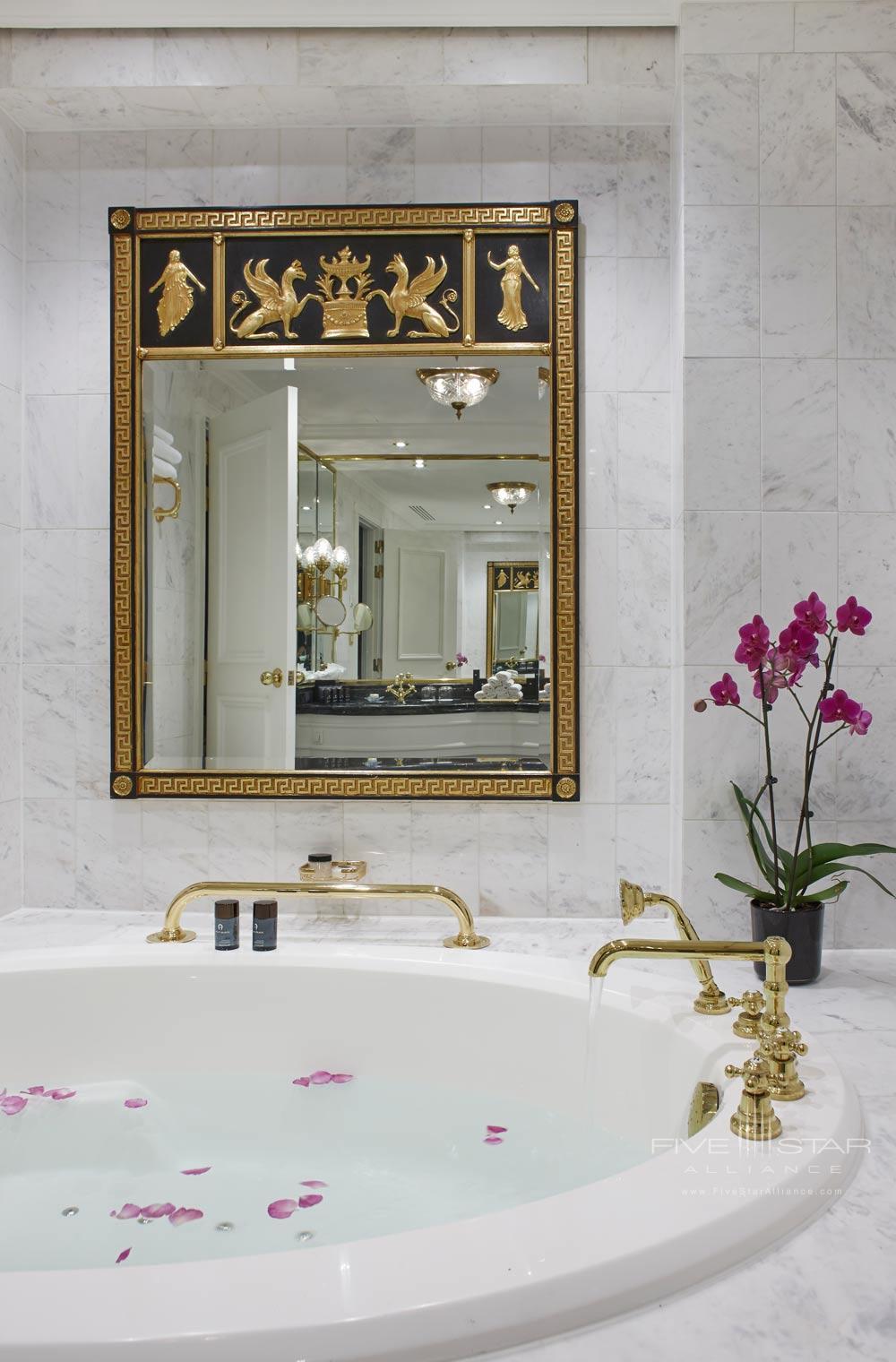 Royal Suite Bath at Steigenberger Wiltchers BrusselsBelgium
