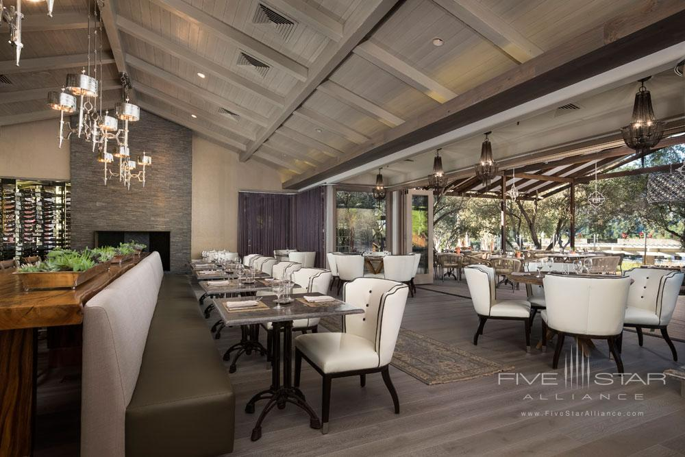 Restaurant Shot RRP at Bernardus Lodge Carmel Valley, CA