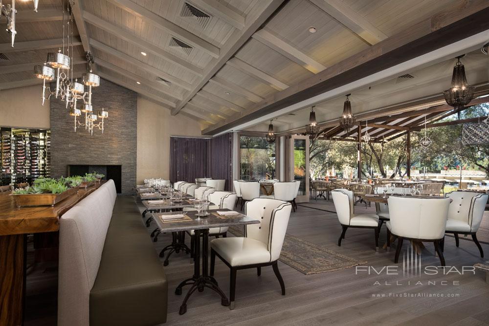 Restaurant Shot RRP at Bernardus Lodge Carmel ValleyCA