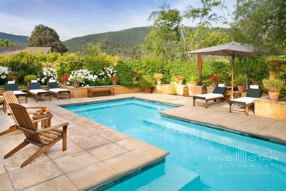 Warming Pool at Bernardus Lodge Carmel ValleyCA