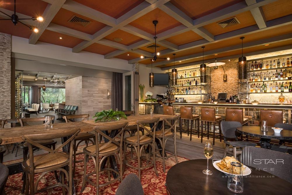 Bar Shot at Bernardus Lodge Carmel Valley, CA