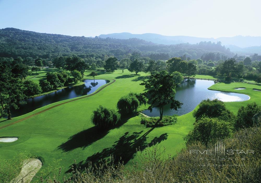 Golf at Nearby Quail Lodge at Bernardus Lodge Carmel ValleyCA
