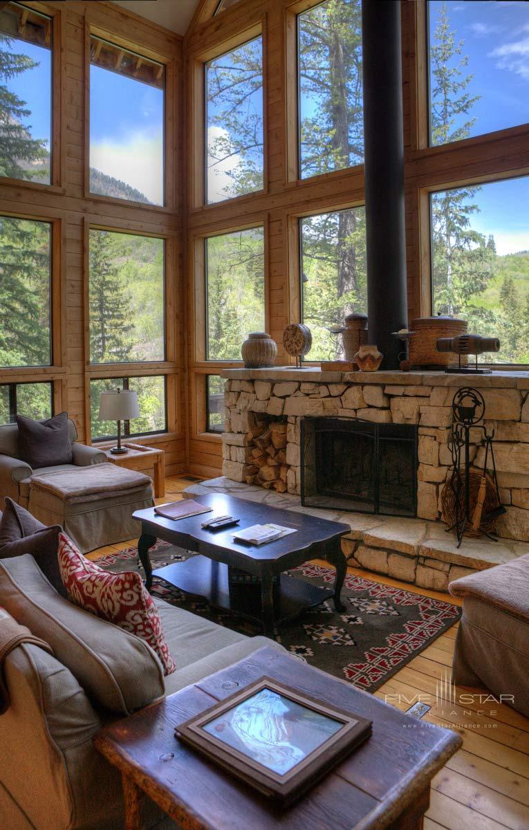 Balsam Living Room at Sundance Resort, Utah