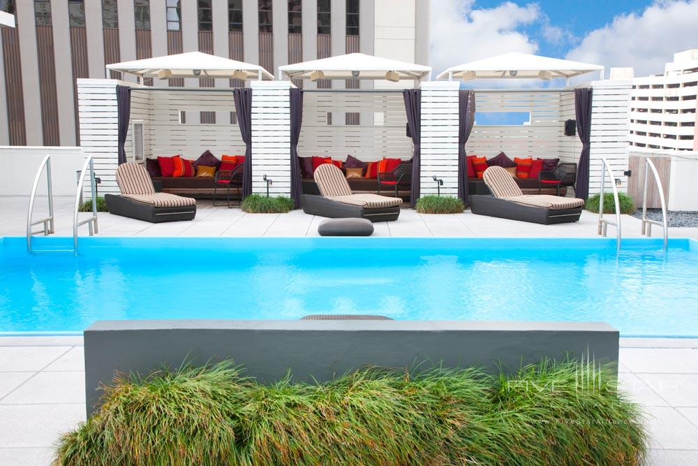Rooftop Pool at Le Meridien New Orleans