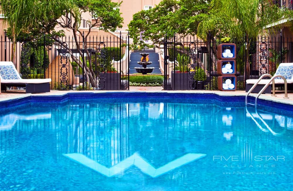 WET-Outdoor Pool at W New Orleans