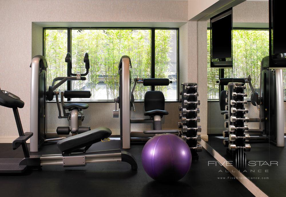 Gym at W SeattleWashington