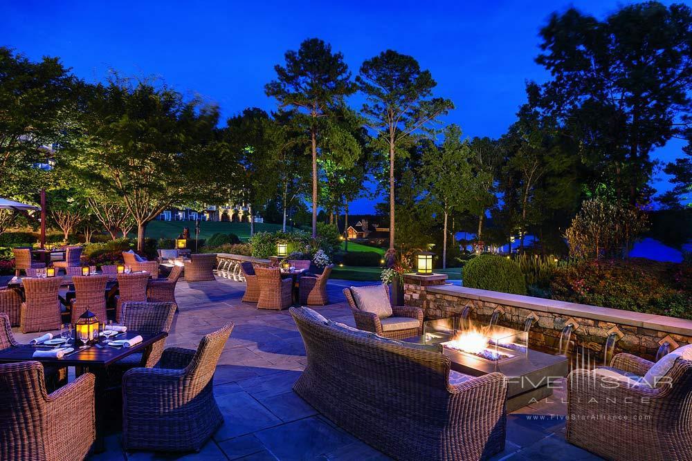 Terrace Dining at The Ritz-CarltonReynoldsGreensboroGA