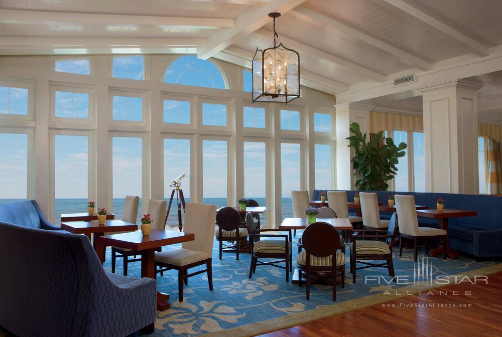 Lobby at Ritz Carlton Half Moon Bay