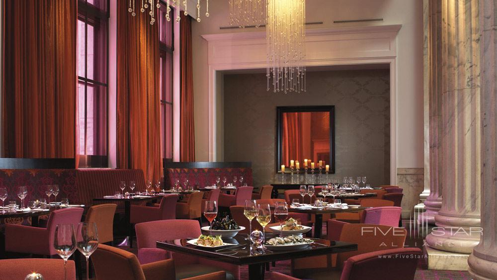 Dining at Ritz Carlton Philadelphia