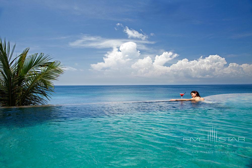 The Ocean Beach pool at AYANA Resort and Spa, Bali