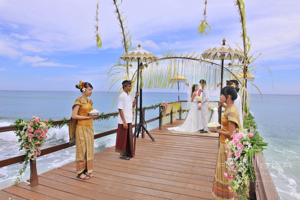 Jetty Wedding at AYANA Resort and Spa, Bali