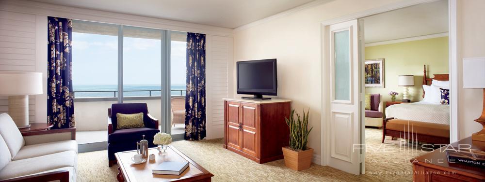 Living Area of Ritz Suite at Ritz Carlton Amelia Island