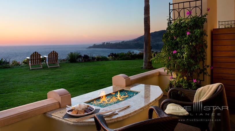 Fire pit at The Ritz-Carlton, Laguna Niguel