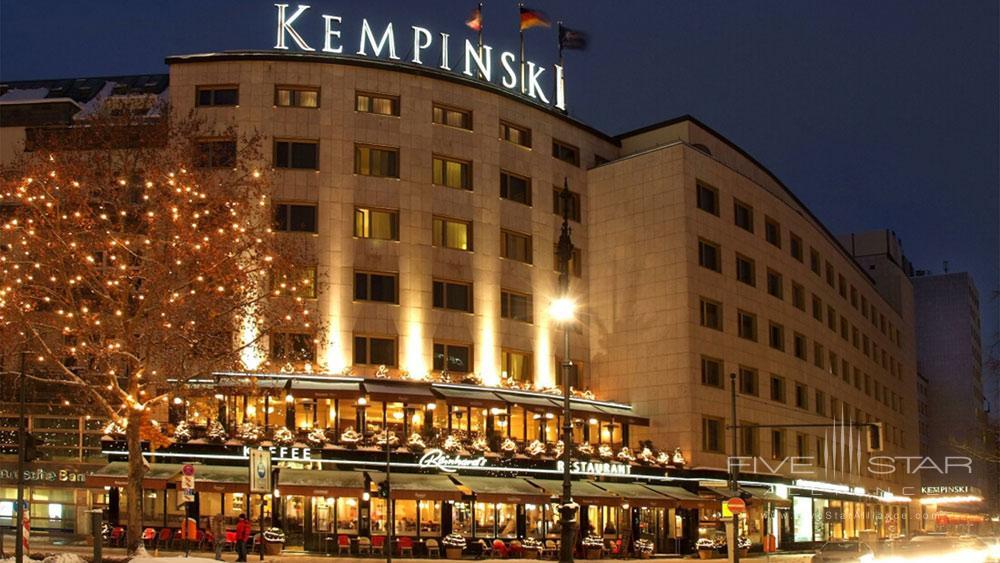 Exterior of Kempinski Hotel Bristol Berlin