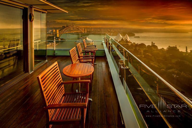 Terrace Lounge at InterContinental SydneyAustralia