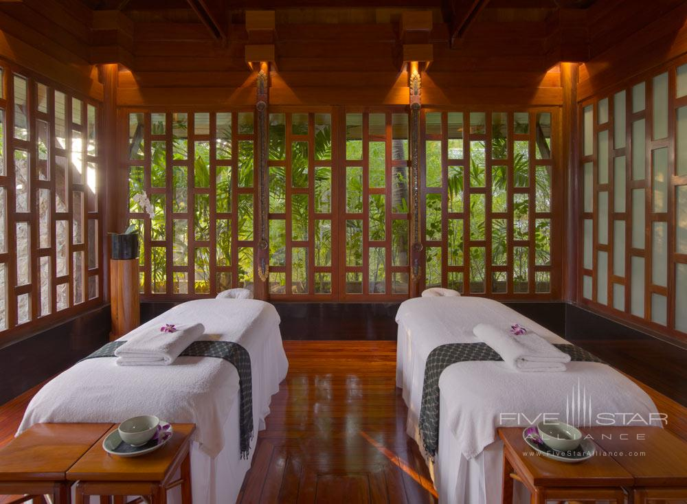 Aman spa treatment room at AmanpuriThailand
