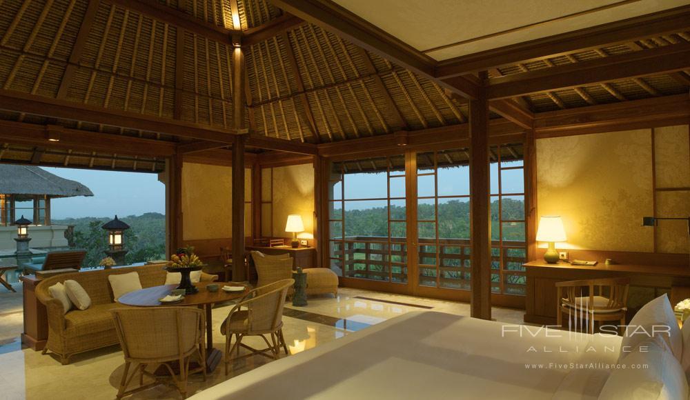 Interior of Villa HomeAmandariBali