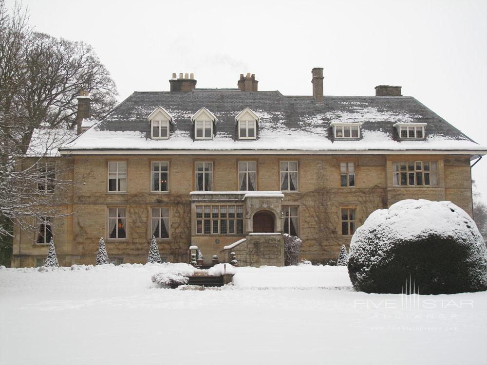 Exterior at WintertimeLower Slaughter Manor, United Kingdom