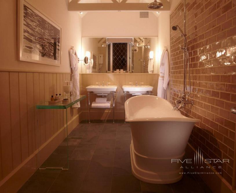 Cliveden House Spring Cottage Bathroom
