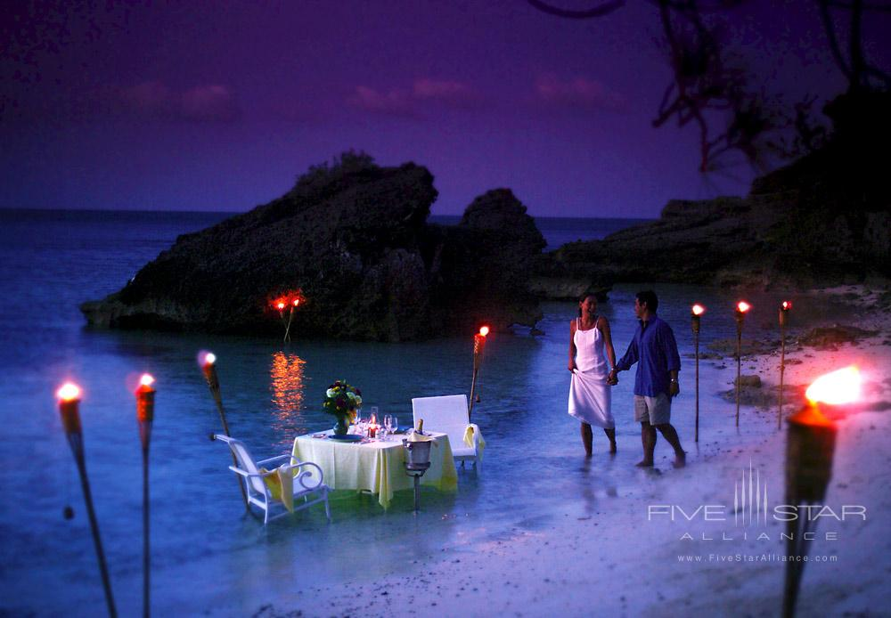 Private Beach Dining at Cambridge BeachesBermuda