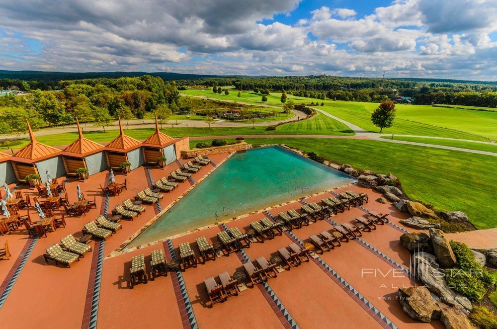 Outdoor Infinity Pool at Nemacolin Woodlands Resort