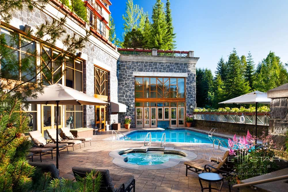 Outdoor Pool at The Westin Resort And Spa WhistlerBCCanada