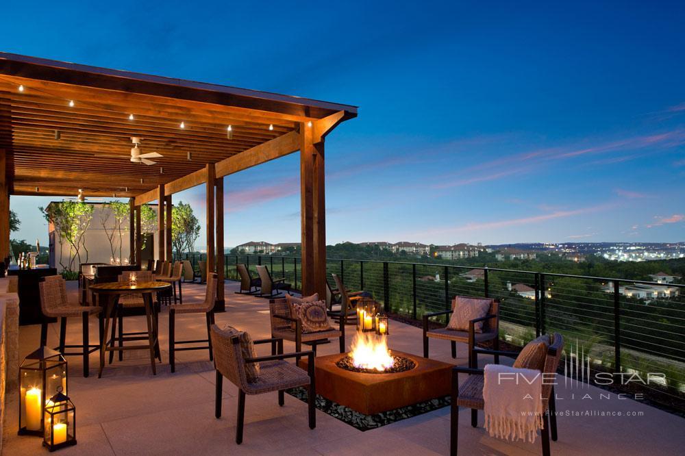 Terrace Bar at La Cantera Resort and Spa, San Antonio, TX