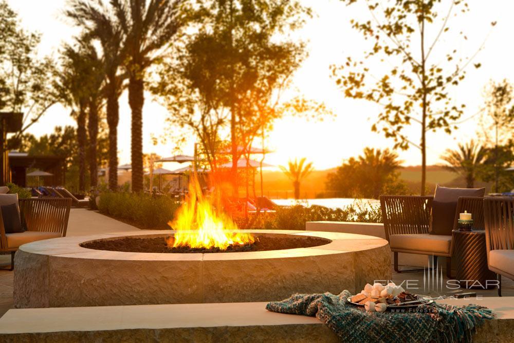 Fire pit at La Cantera Resort and Spa, San Antonio, TX