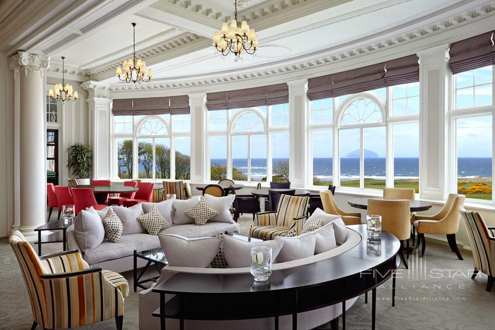 Lounge at Trump Turnberry, Ayrshire, United Kingdom