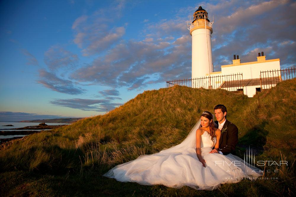 Weddings by the lighthouse at Trump Turnberry, Ayrshire, United Kingdom