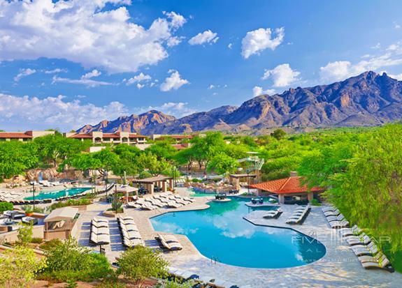 The pool at The Westin La Paloma