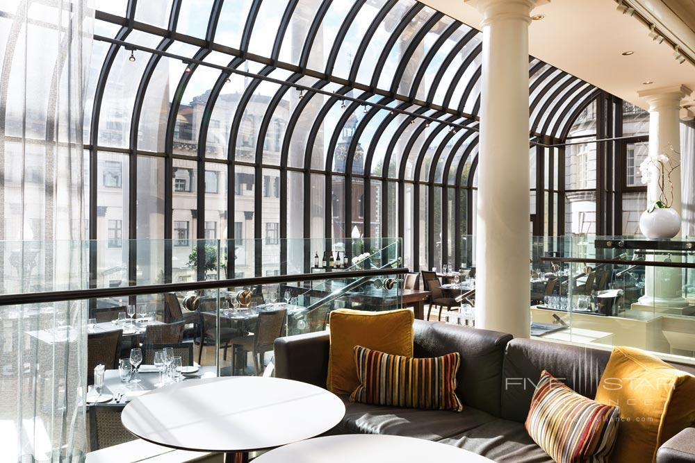 Dining at Le Meridien PiccadillyLondon