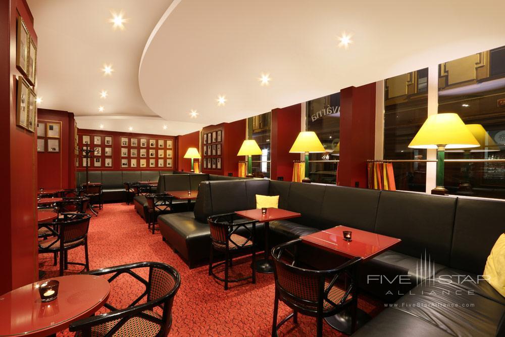 Palace Cafe at Art Nouveau Palace Hotel Prague