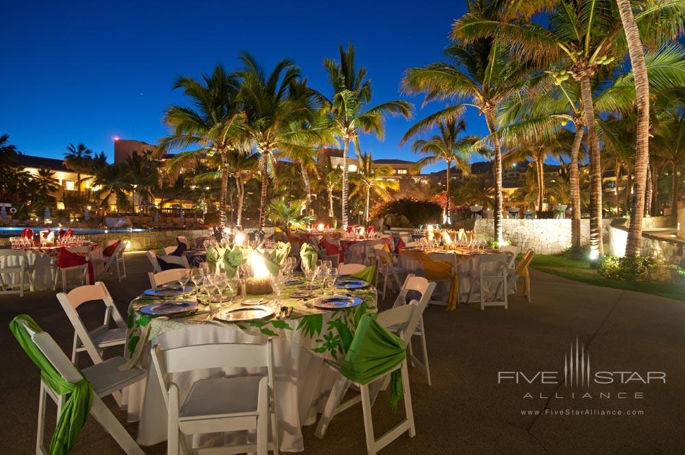 Outdoor Dining at Fiesta Americana Grand Los Cabos Los Cabos